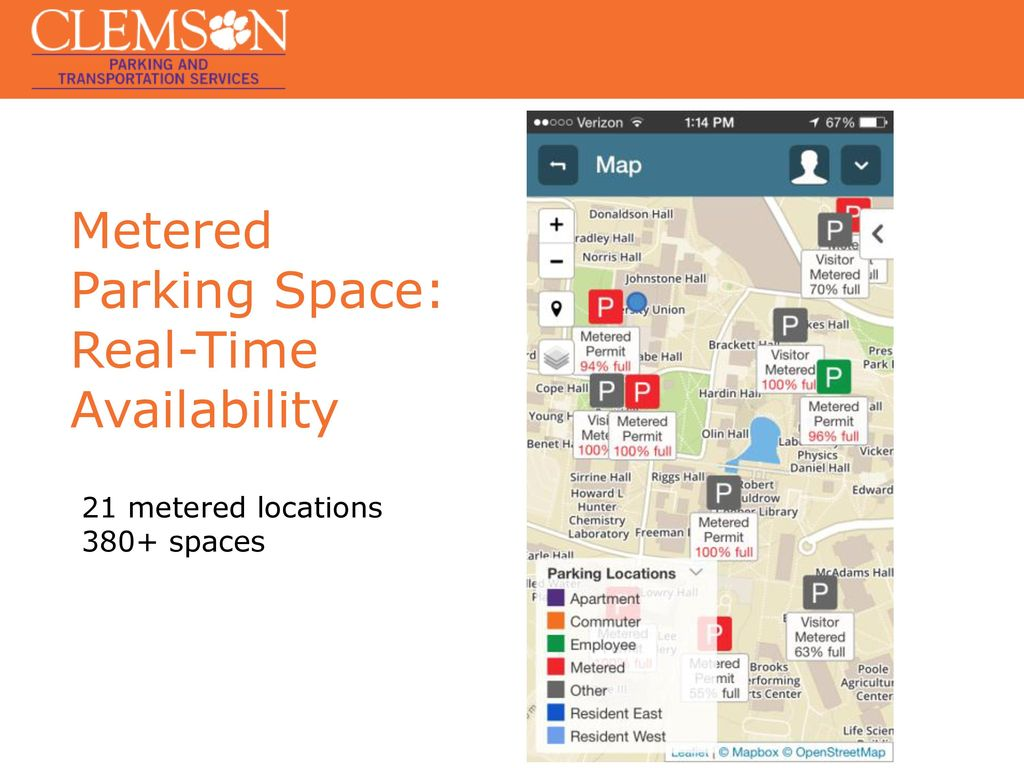 "Parking Smart at a ""Smart Campus"" - ppt download on"