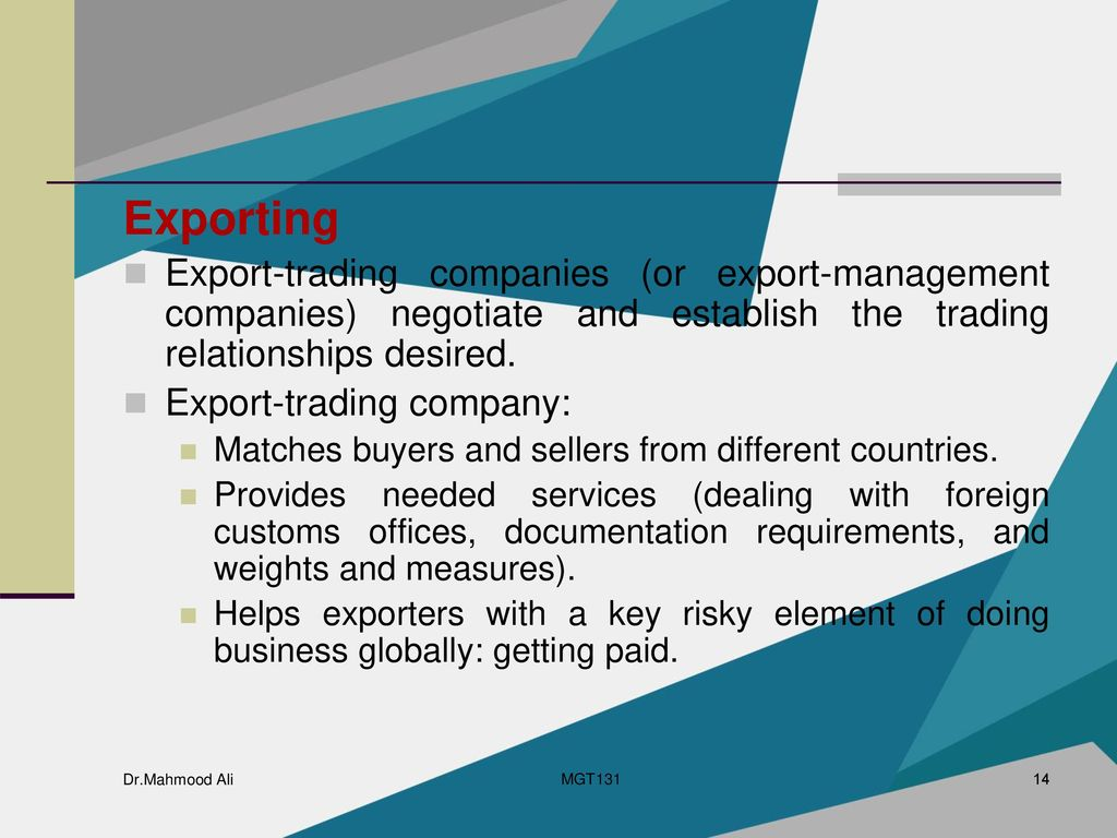Business in Global Markets - ppt download