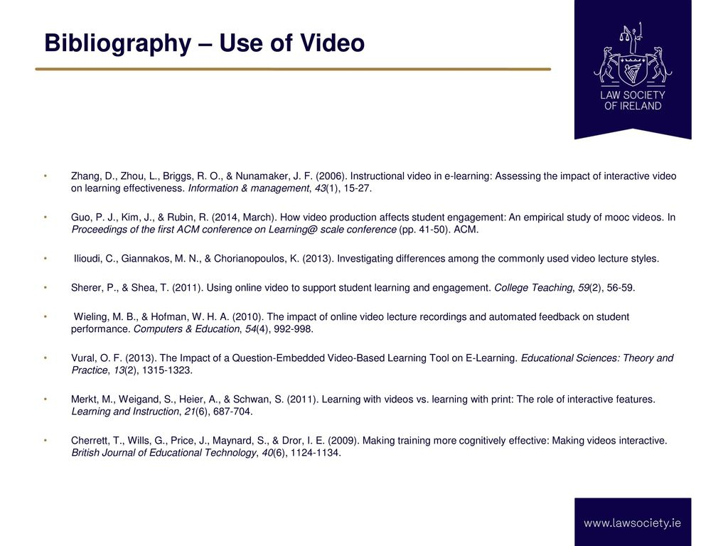 How do students perceive interactivity in online video - ppt