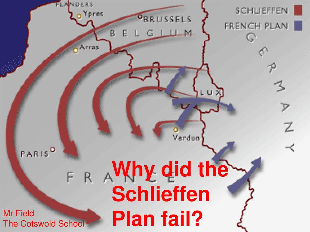 Why did the Schlieffen Plan fail? Mr Field The Cotswold ... Route Schlieffen Plan Map on treaty of brest-litovsk map, unrestricted submarine warfare map, marshall plan map, triple alliance map, plan 17 map, communism map, trench warfare map, beer hall putsch map, military strategy map, triple entente map, citadel map, european union map, yalta conference map, blitzkrieg map, league of nations map, industrial revolution map, battle of jutland map, holocaust map, battle of the somme map, soviet deep battle map,