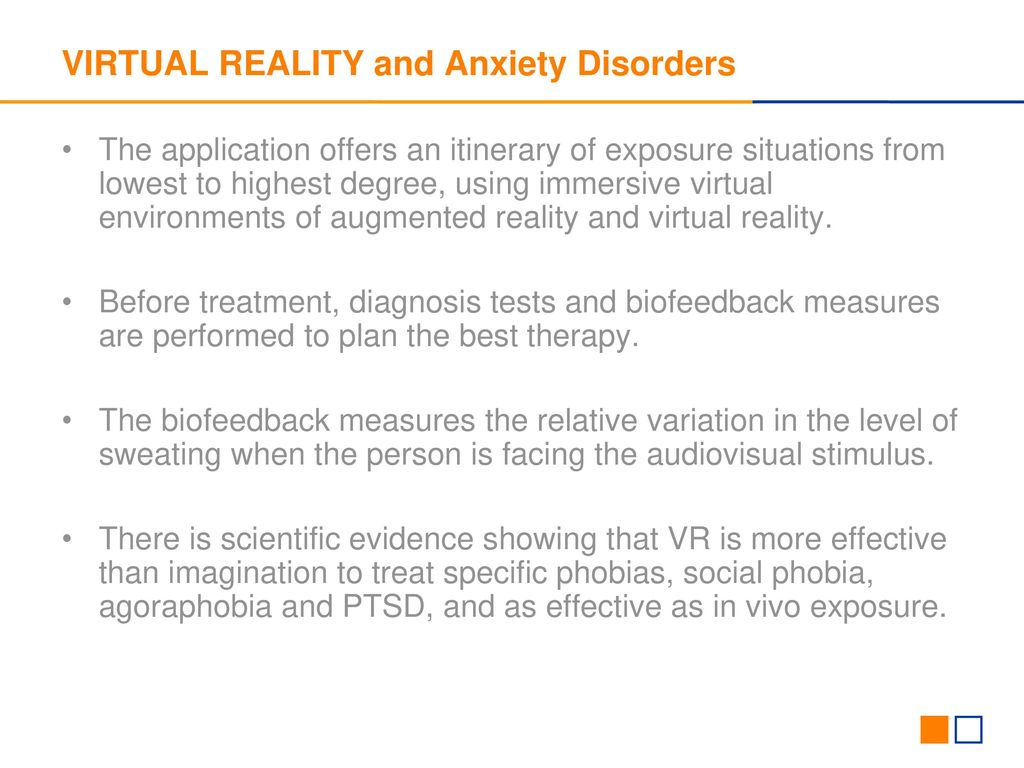 Handling Phobias With Virtual Reality Ppt Download