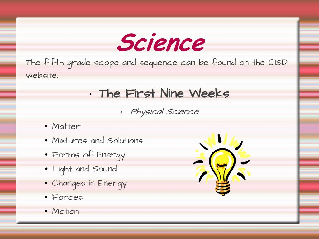 Science 5th Grade Science Ppt Download