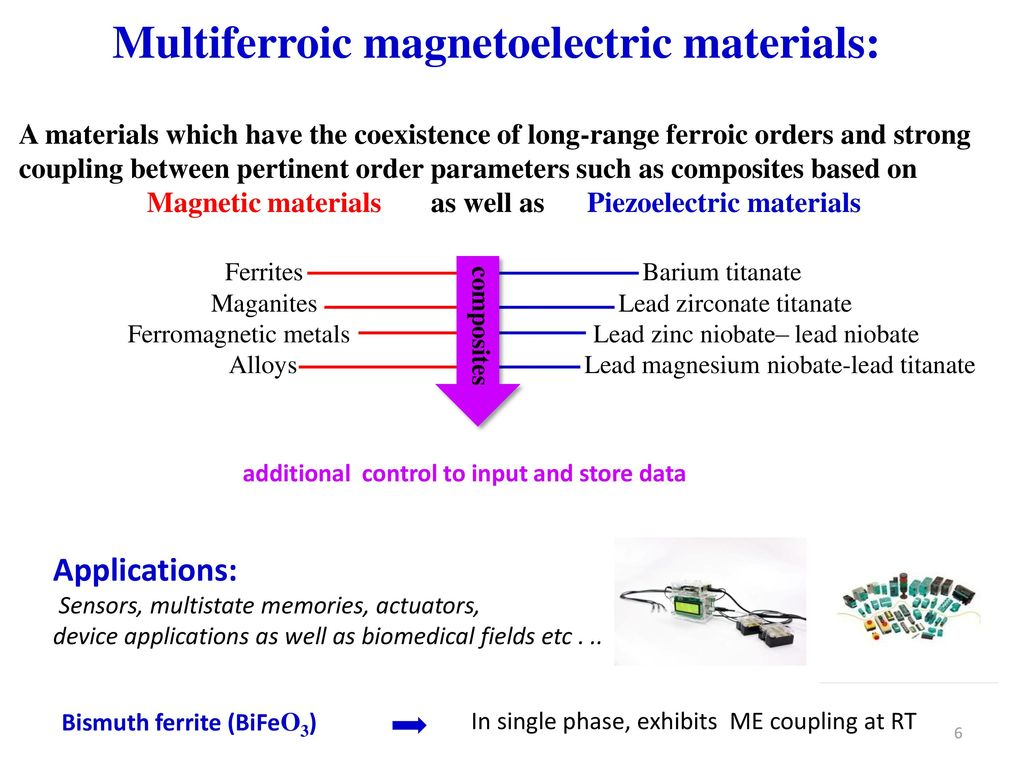Multiferroic and Magnetoelectric properties of BCT-ZF ceramics - ppt