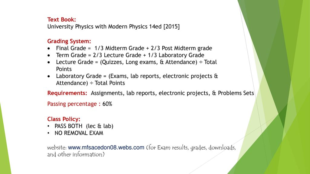 Mass training of trainers General Physics 2 - ppt download