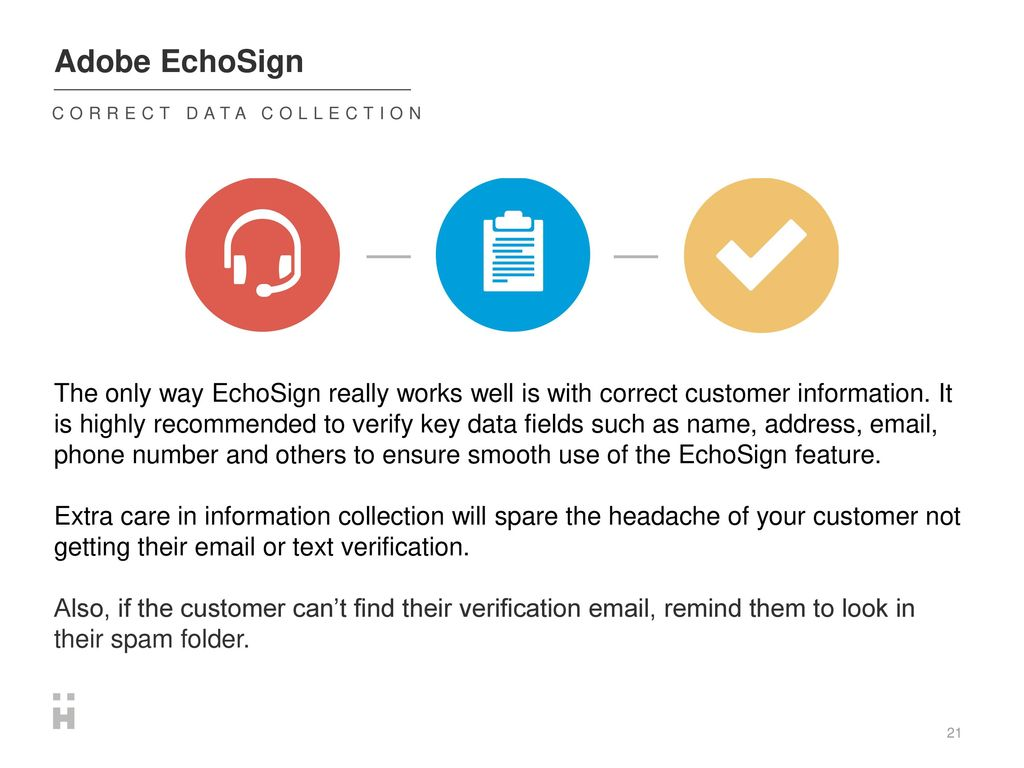 Adobe EchoSign  - ppt download