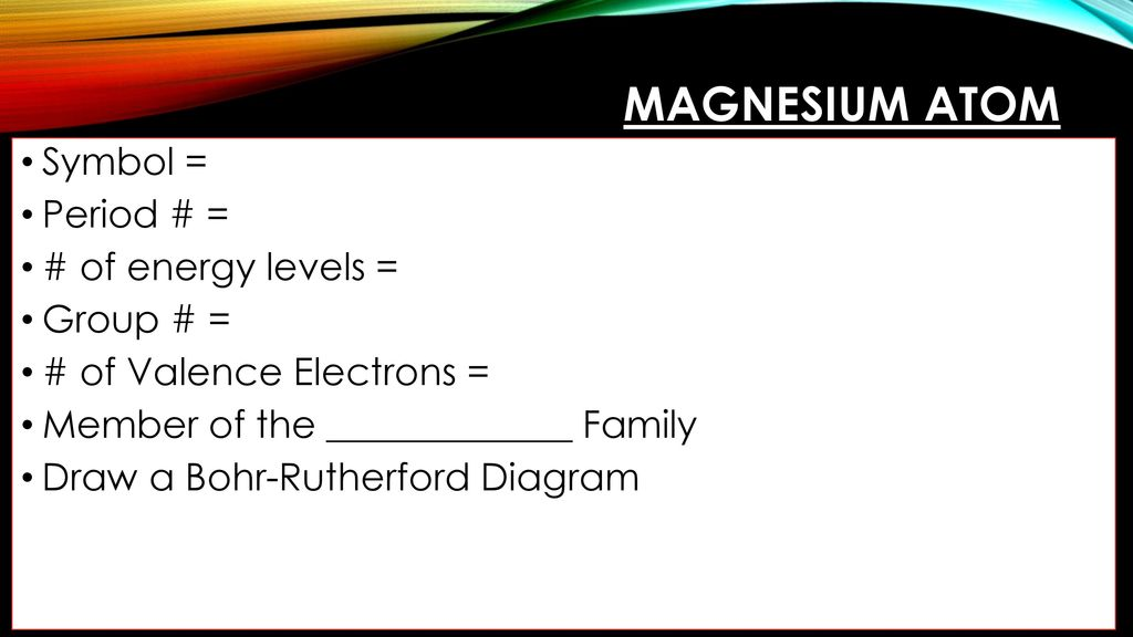 Putting atoms together ppt download 30 magnesium ccuart Images