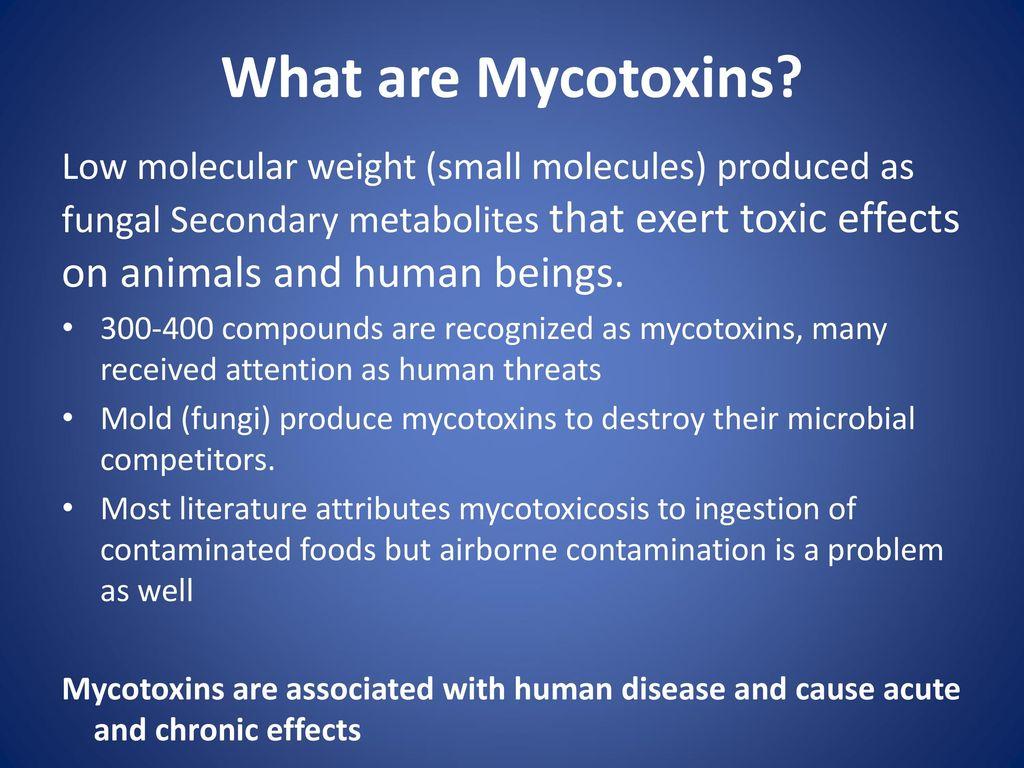 mycotoxins in food slideshare)
