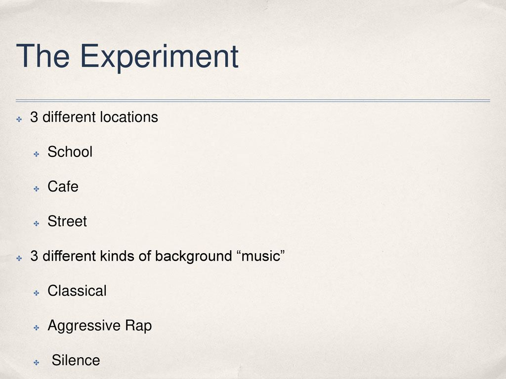 How Does Music Affect Human Behavior? - ppt download