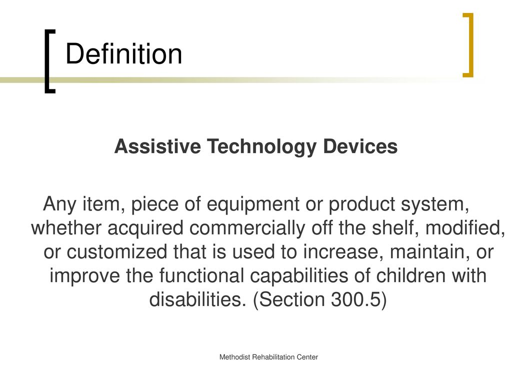 assistive technology and adaptive computing overview - ppt download
