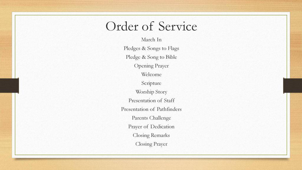 Pathfinder Sabbath Induction Ceremonies Ppt Download