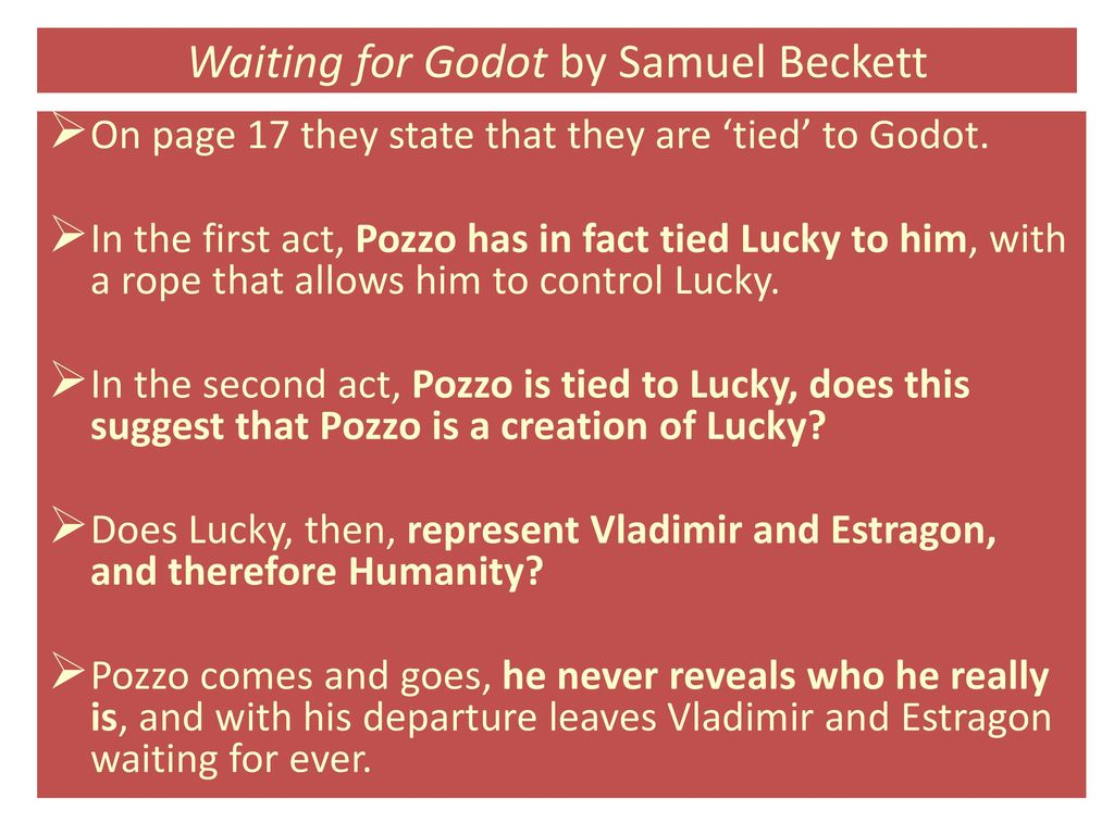 who is godot and what does he represent