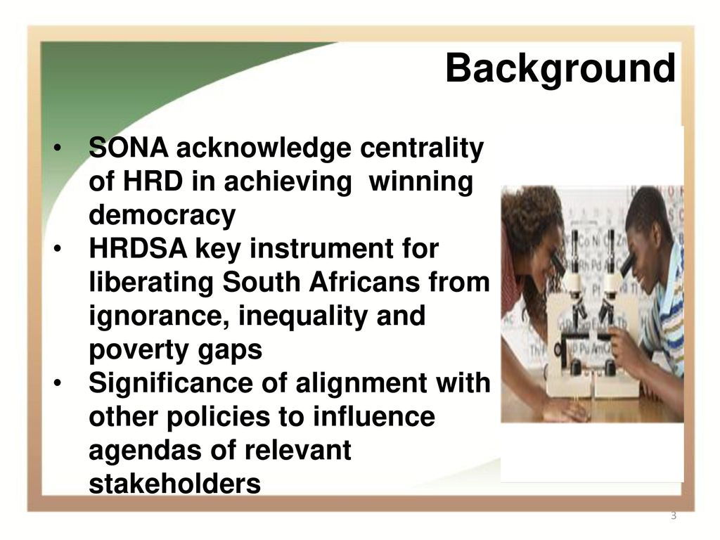 significance of hrd