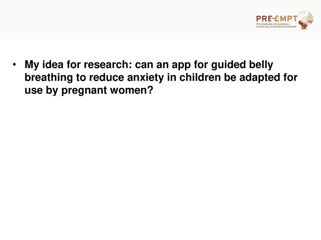 Diaphragmatic breathing and mobile health - ppt download