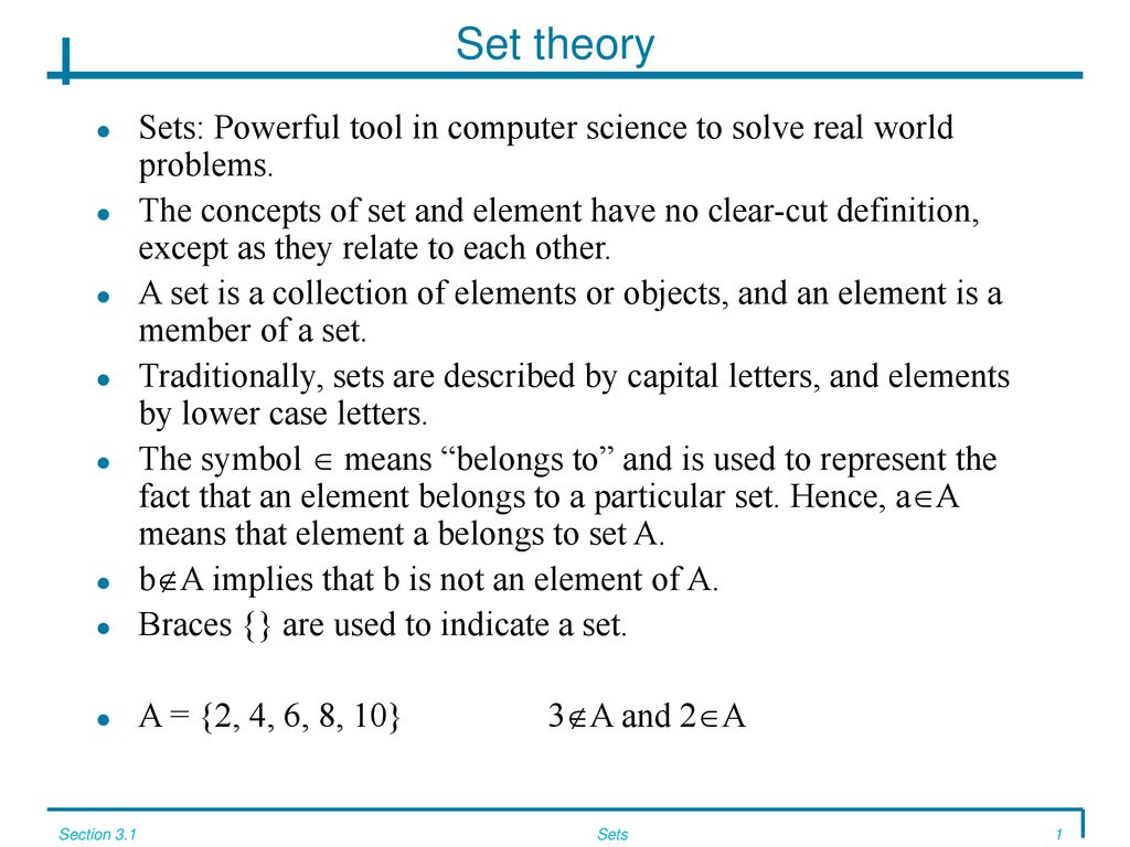 set, combinatorics, probability & number theory - ppt download