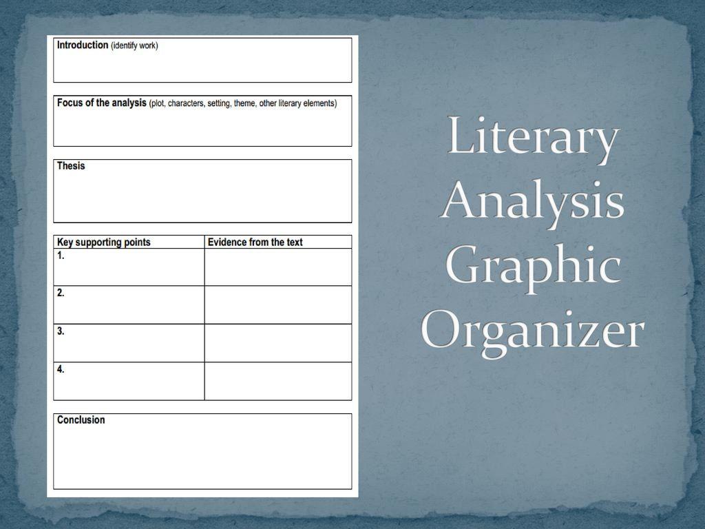 Literary Analysis Ppt Download