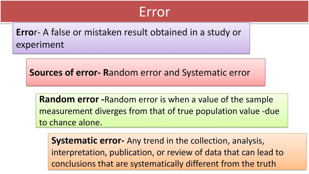 Biases In Epidemiological Study Ppt Download