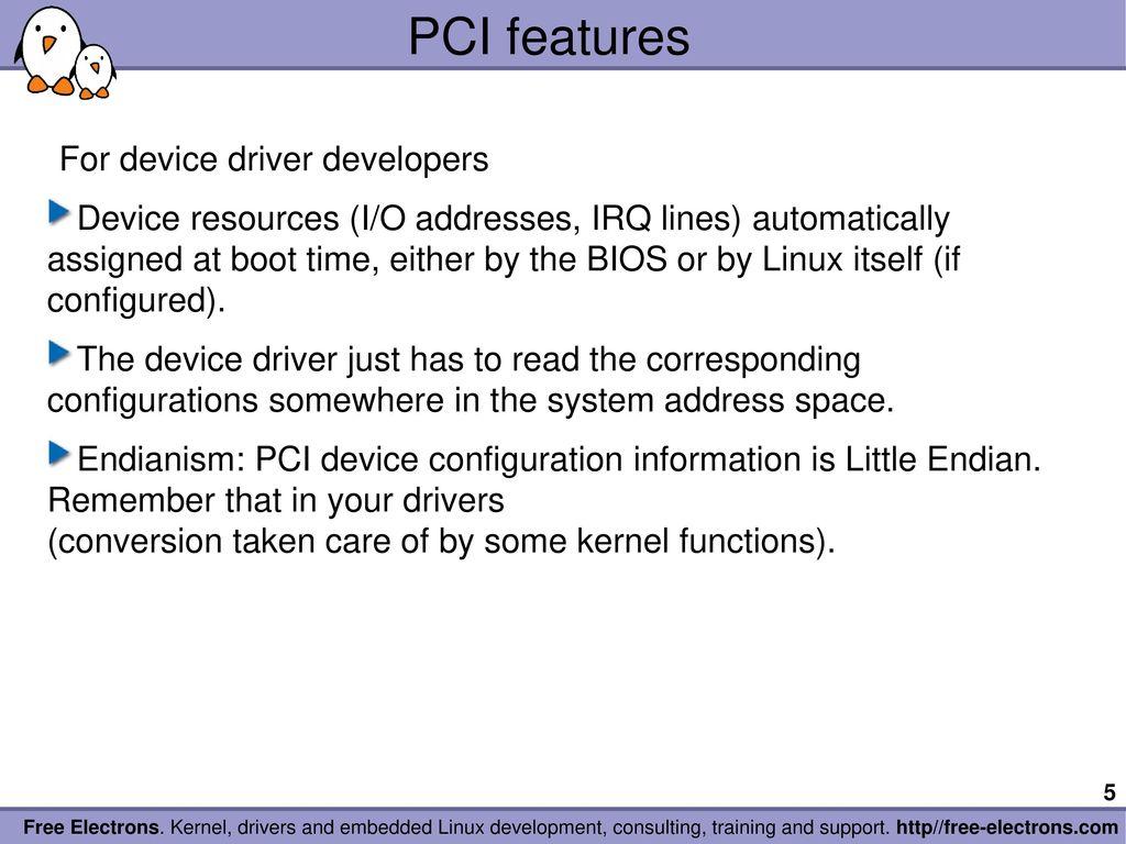 Linux Pci Bar0