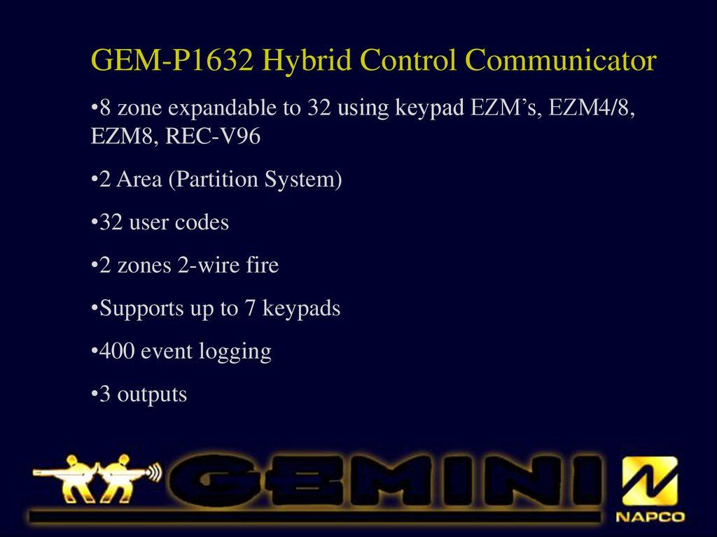 GEM-P1632 Hybrid Control Communicator