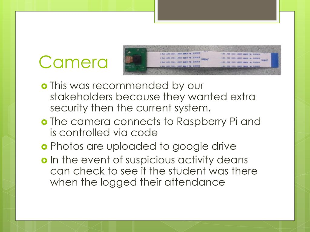 Wireless Attendance System - ppt download