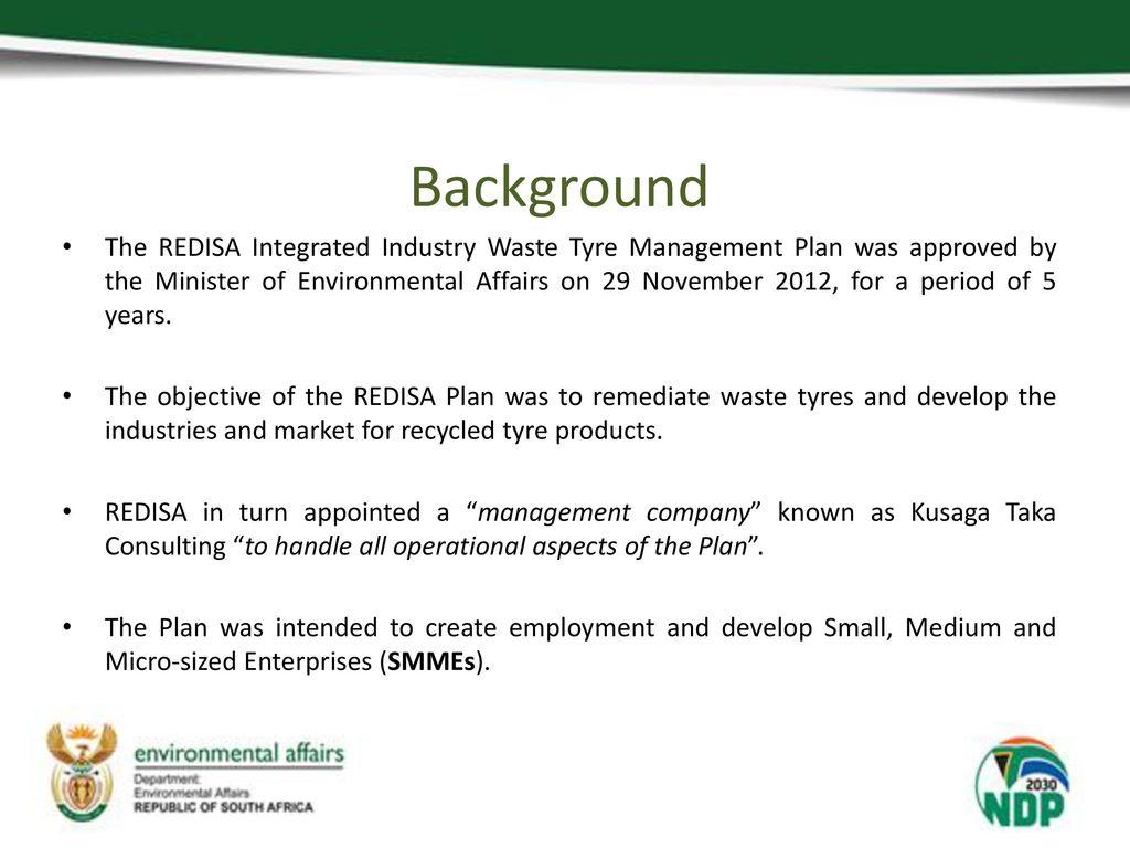 Presentation on Litigation against REDISA and Kusaga Taka October