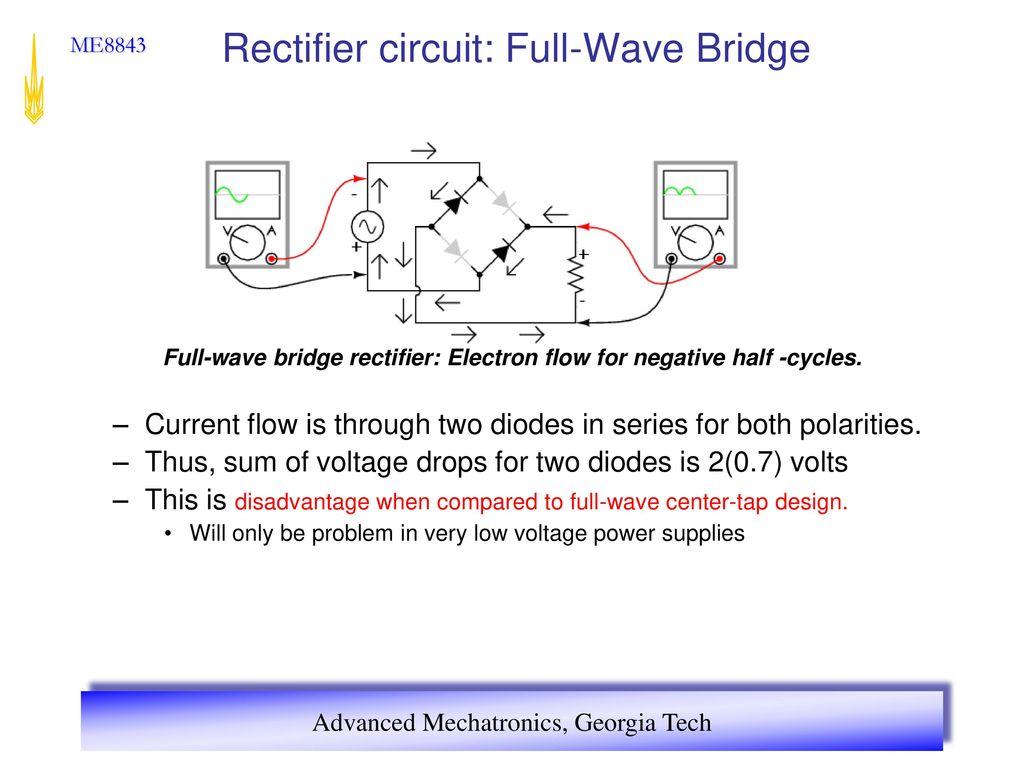 Advanced Mechatronics Ppt Download Voltage Rectifier Circuit 20