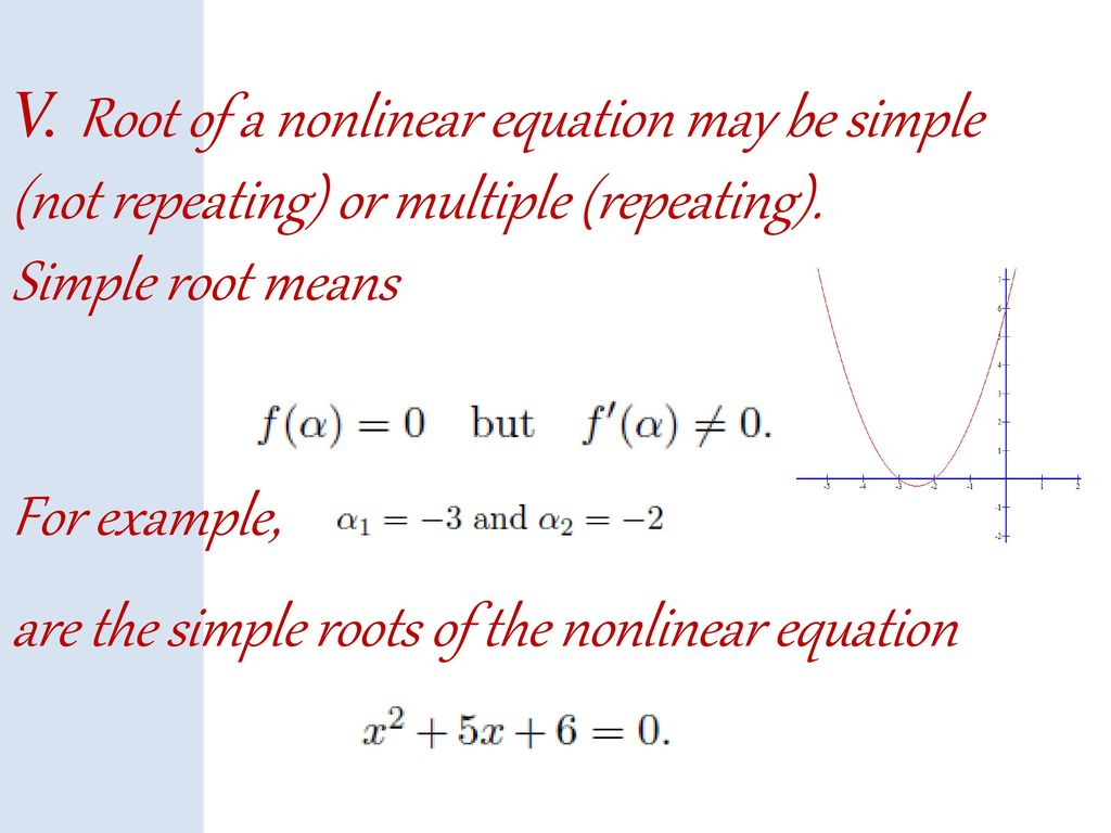 numerical methods and analysis - ppt download