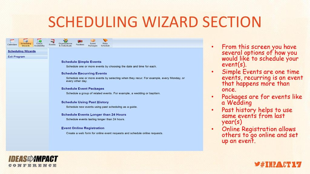 PDS FACILITY SCHEDULER Ppt Download