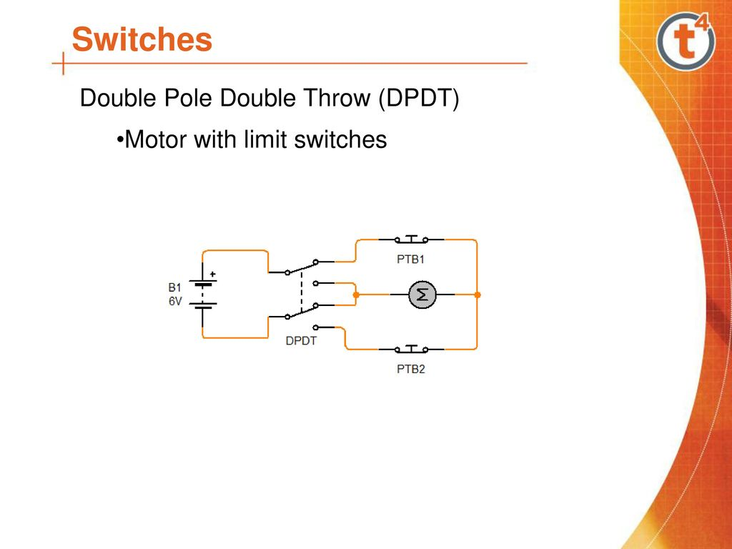 Single Pole Double Throw Limit Switch Wiring Diagram Library Home Page Gt Switches Sensors Spst Toggle 12 Dpdt Motor With