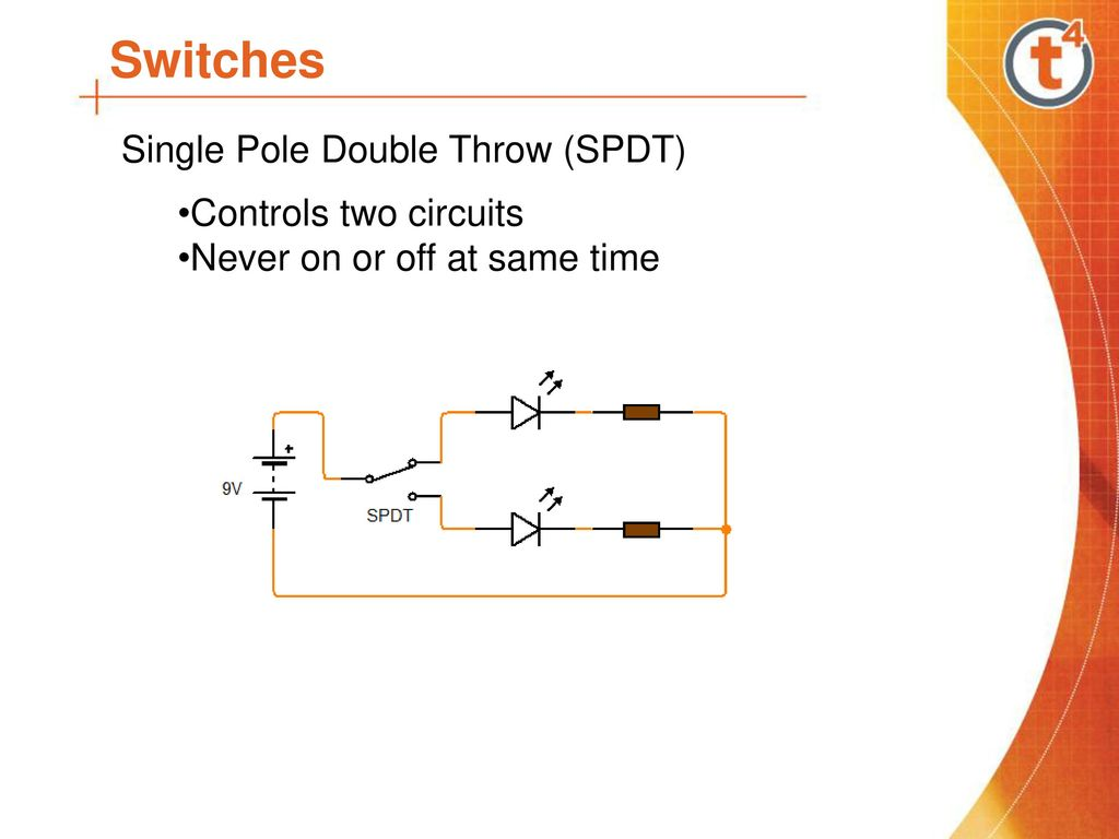 Jc Technology Components Ppt Download Single Pole Double Throw Switch Schematic 7 Switches