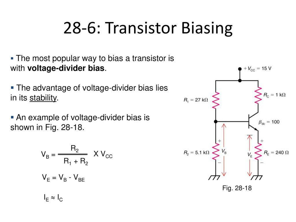 15a04301 Electronic Devices And Circuits Ppt Download The Potential Voltage Divider Bias 28 6 Transistor Biasing Most Popular Way To A Is With 39