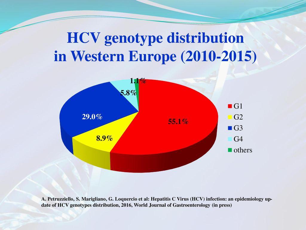 Hepatology Hepatitis C virus (HCV) genotype 1b as a risk