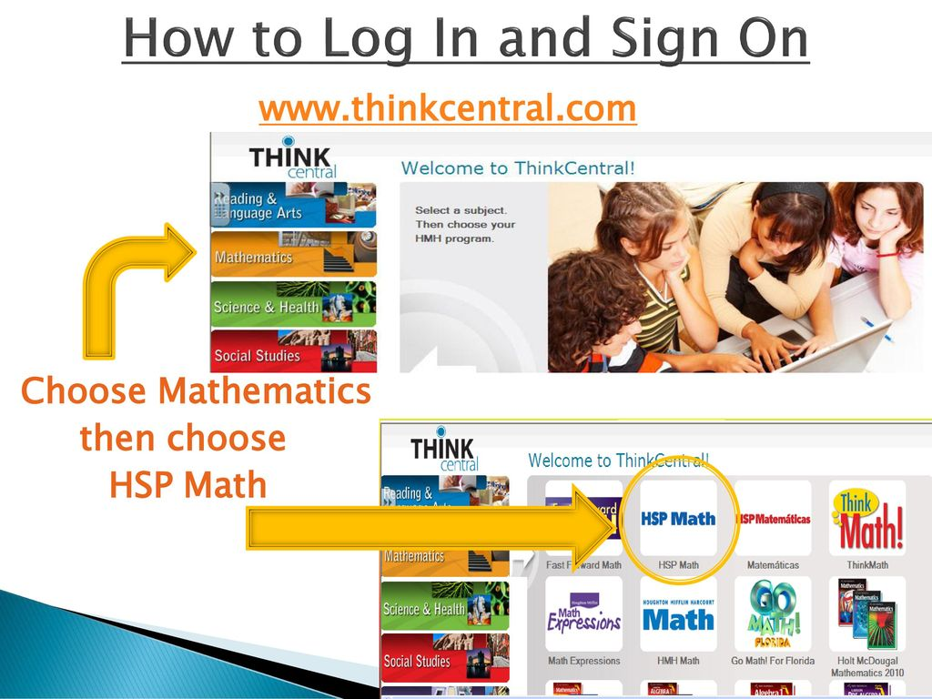 ThinkCentral Math Online Resources - ppt download