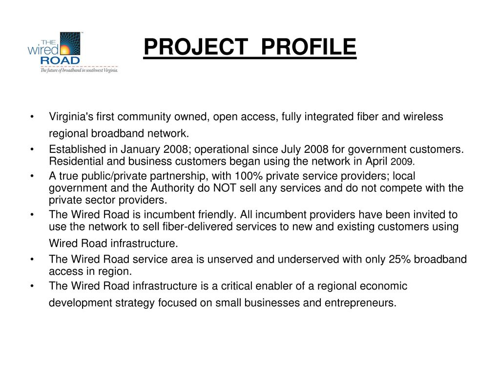 VACO ANNUAL CONFERENCE Wired Road Broadband Authority - ppt download