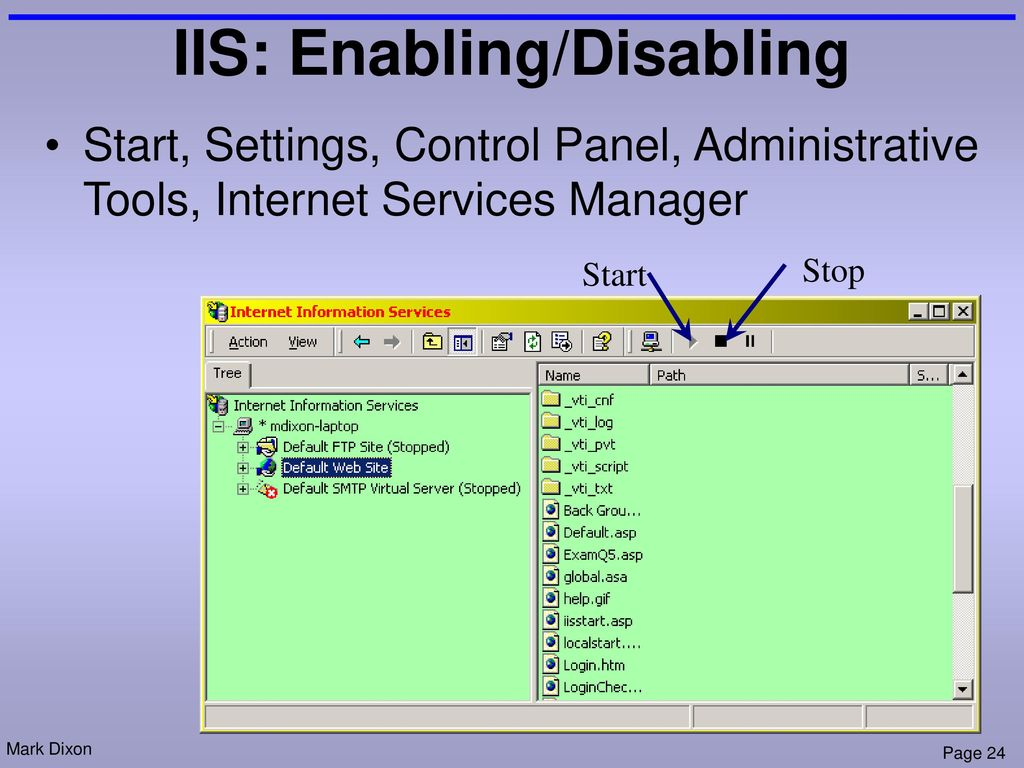 18 Web Applications Server Side Code Asp Ppt Download Intranet Diagram Apache Iis And Pws Enabling Disabling