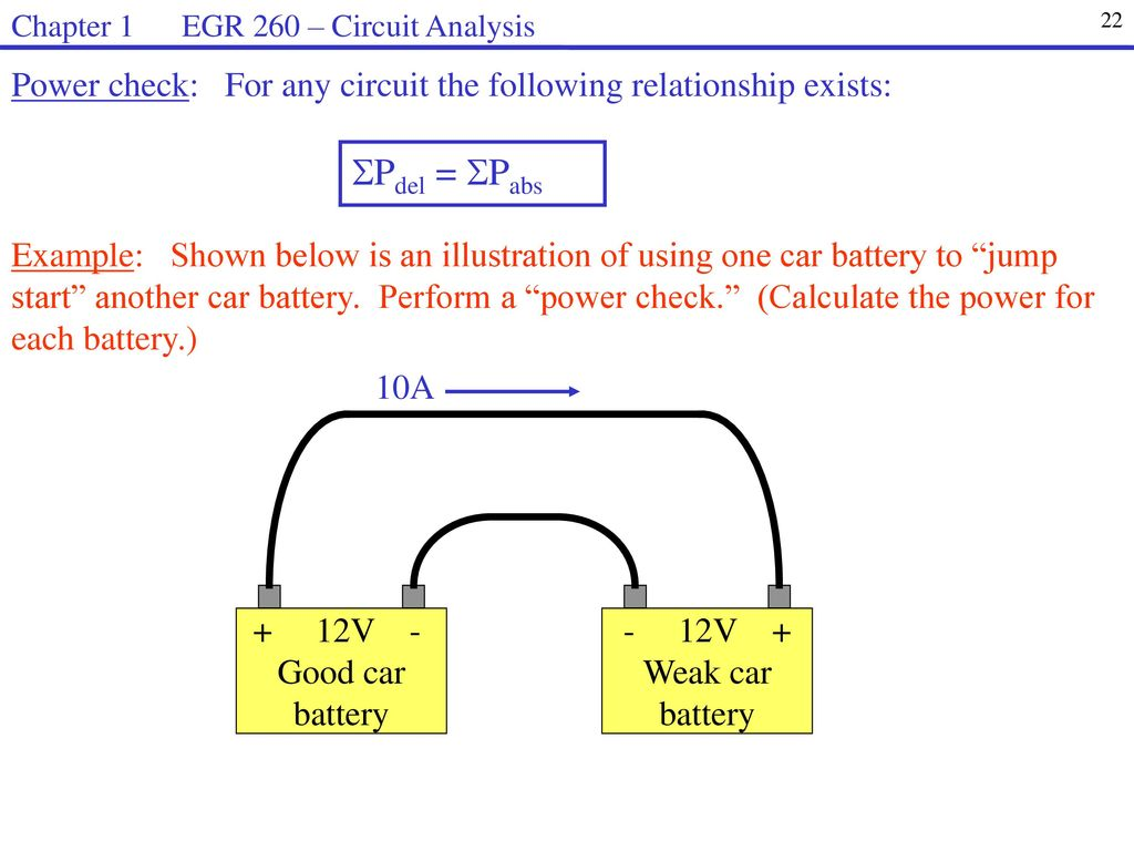 Egr 260 Circuit Analysis Welcome To Syllabus Homework Web Page Ppt The Below Shows A Battery Resistor Inductor And Capacitor Chapter 1