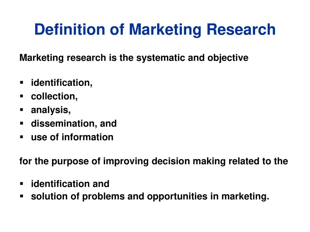 introduction to marketing research - ppt download