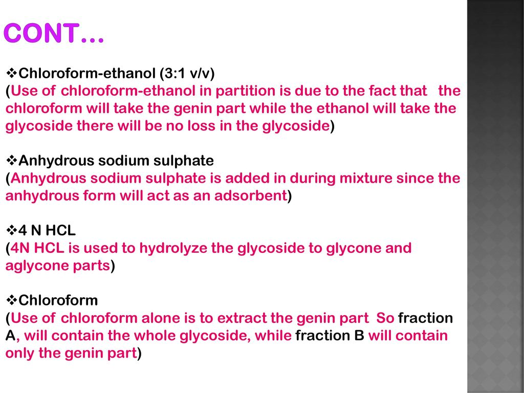 THE ISOLATION OF THE CARDIO ACTIVE GLYCOSIDES - ppt download