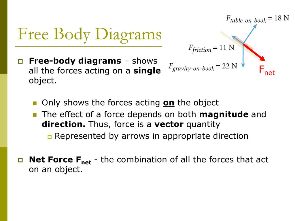 Forces Laws Of Motion Ch 4 Physics Ppt Download Free Body Diagram Is A Picture Showing The That Act On 10 Diagrams Fnet