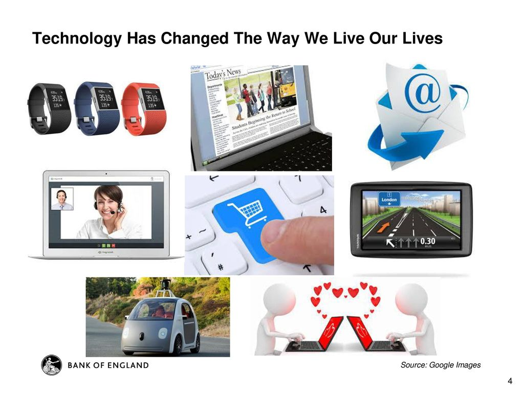 technology has changed the way we live