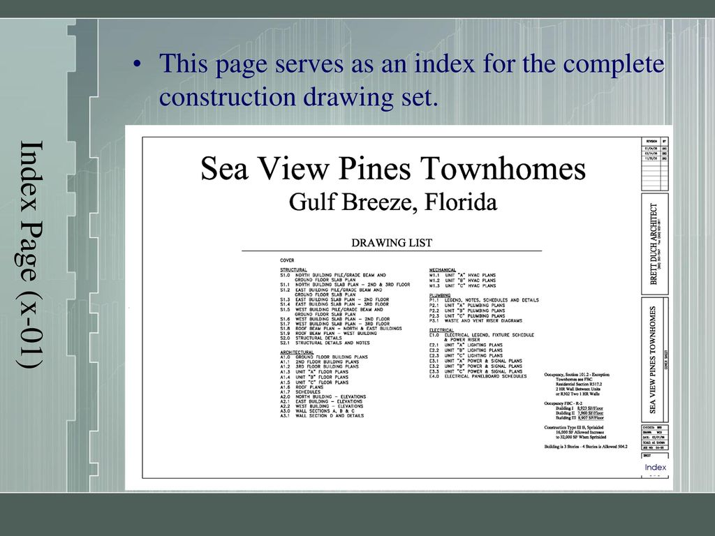Construction Documents Ppt Download