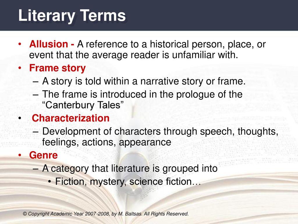 frame story literary term   Allframes5.org