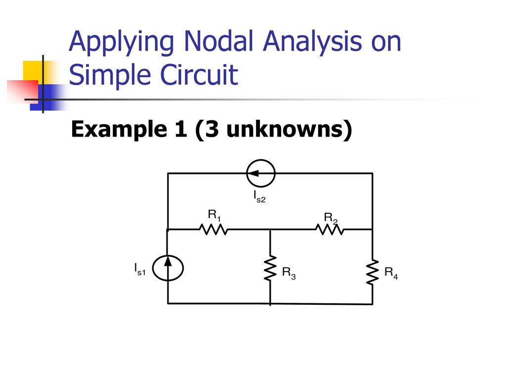 Chapter 2 Dc Circuit Analysis And Ac Ppt Download Circuits Nodal Applying On Simple