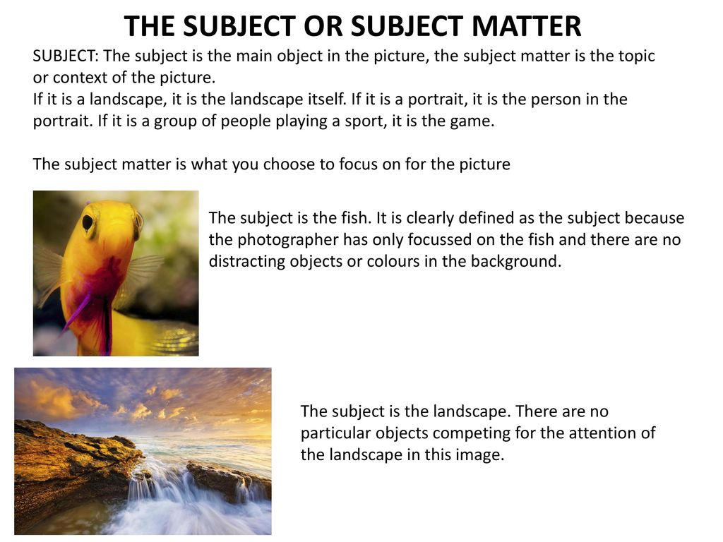 Photography Vocabulary And Definitions Ppt Download