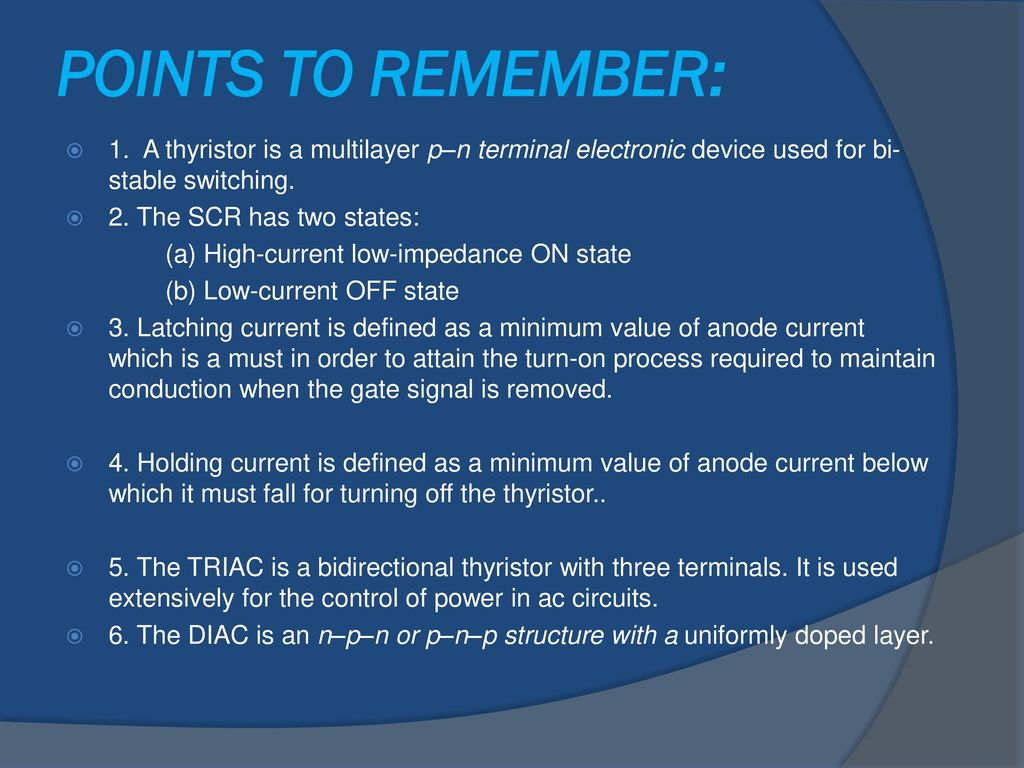 Igbt Ppt Download Scr Need For Thyristors In Power Electronic Circuits Electrical A Thyristor Is Multilayer Pn Terminal