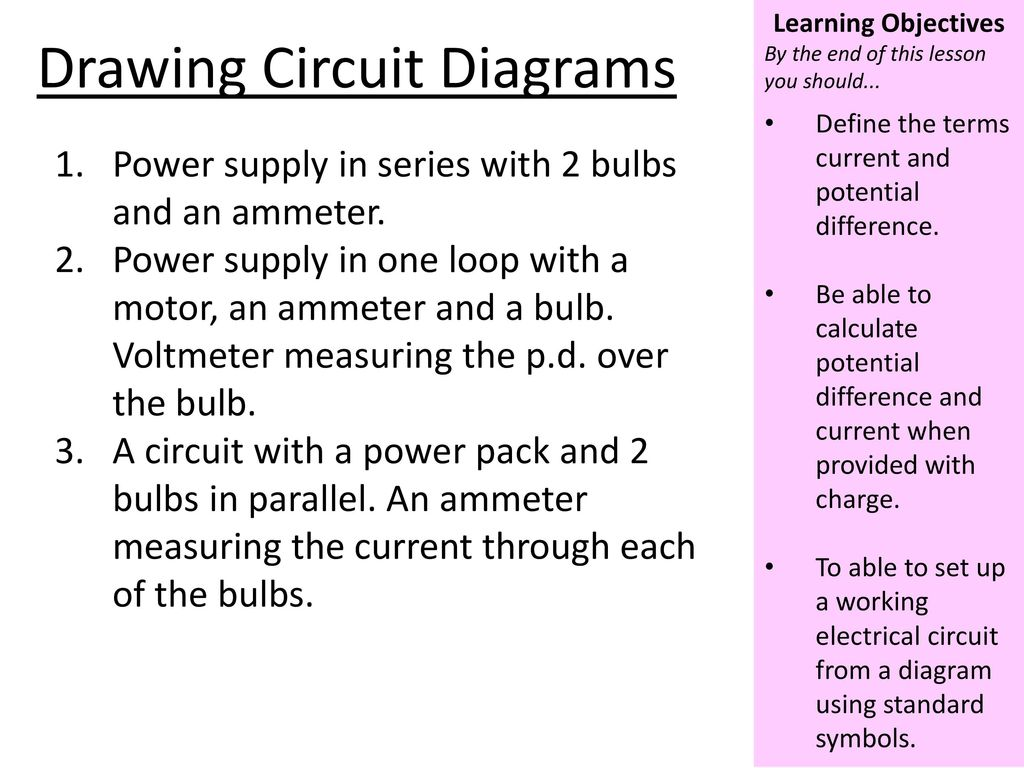 Use The Idea Of Static Electricity To Explain Ppt Download Circuit Diagram Using Standard Symbols Drawing Diagrams