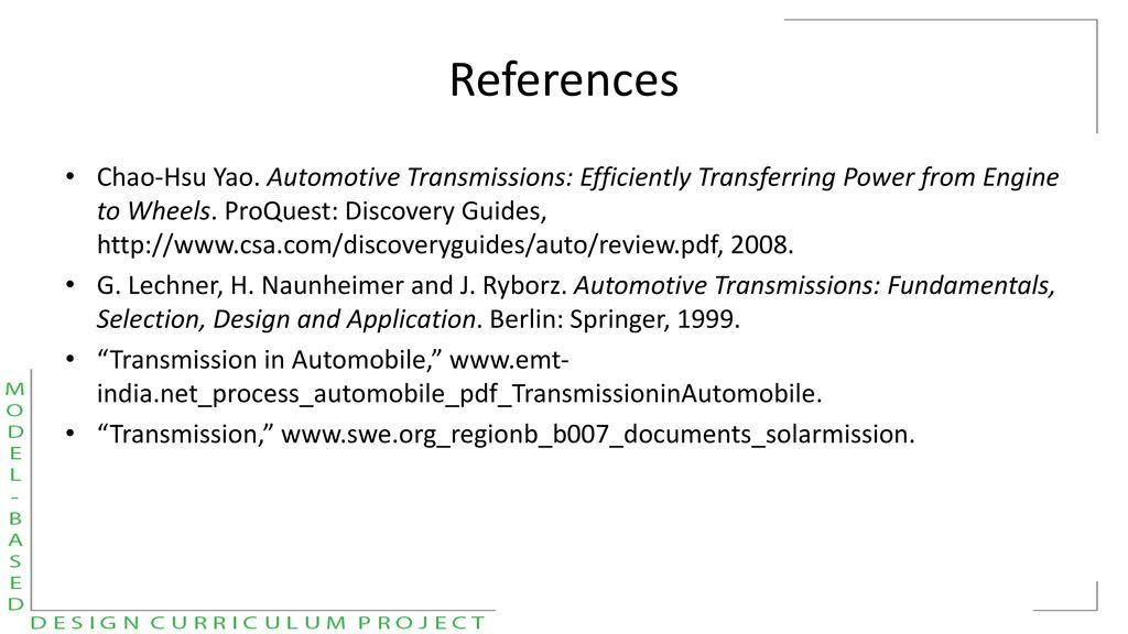 Avtc Model Based Design Curriculum Development Project Ppt Download