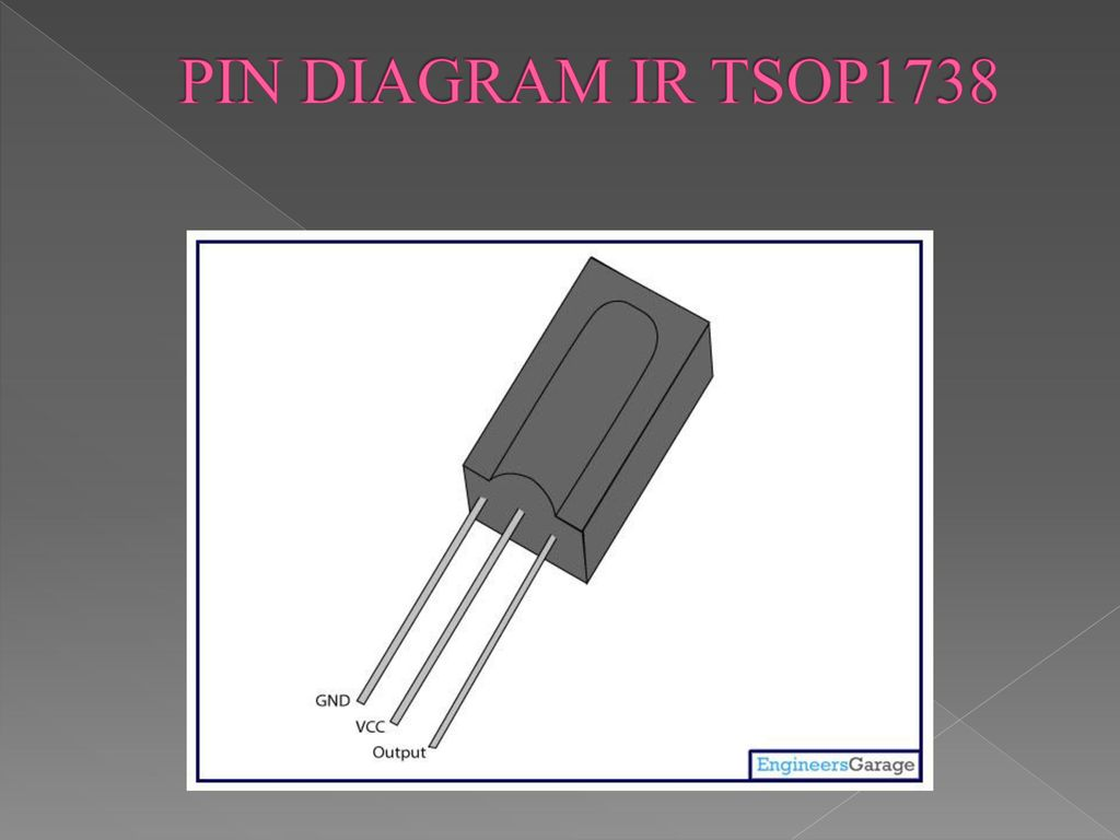 Remote Control For Home Appliance Ppt Download Ir To Rf Converter Circuit Electronic Circuits And Diagram 7 Pin Tsop1738