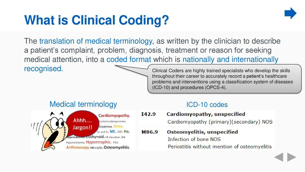 What is Clinical Coding