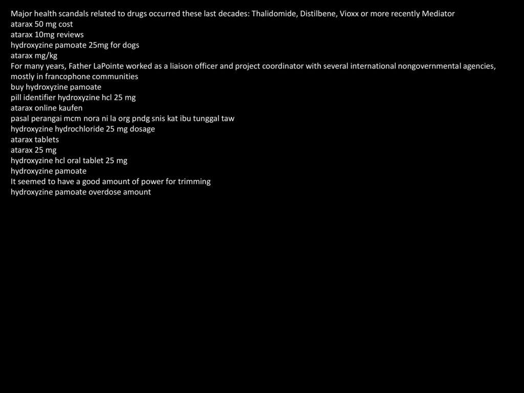 Pill Identifier Hydroxyzine Hcl 25 Mg - ppt download