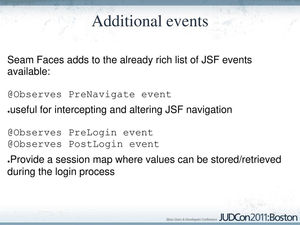 Realize the full potential of JSF with Seam Faces and CDI